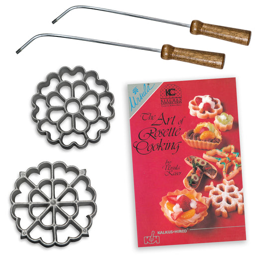 5-Piece Rosette Set with Book