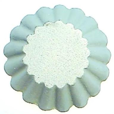 Kitchen Supply 7030 Rosette Bunuelos Shell Mold, Deep Tart 3.1 x 1 Inches