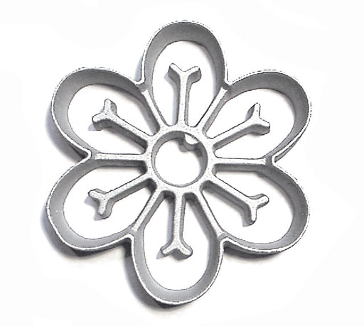Kitchen Supply 7099 Rosette Bunuelos Cookie Mold, Large Daisy 5.2 Inch Diameter x 0.8 Inch D