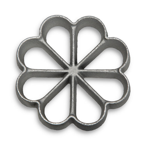 Rosette Bunuelos Cookie Iron,  Large 3.25 x 0.5 Inches