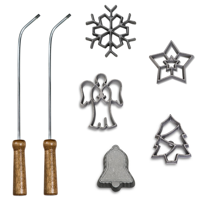 7-Piece Holiday Rosette Set