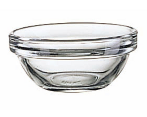 Stackable Glass Bowls 2.25 Inch Diameter, Set of 6