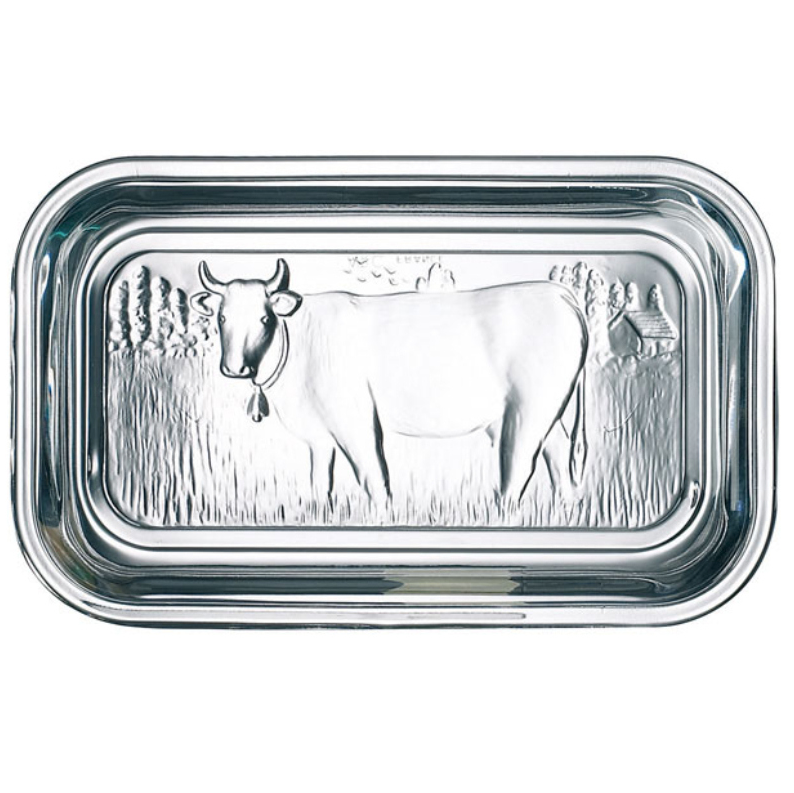 Cow Butter Dish Glass 1 Pound Kerry Gold Butter Keto