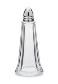 SALT AND PEPPER TOWER, CHROME TOP, 1 OUNCE