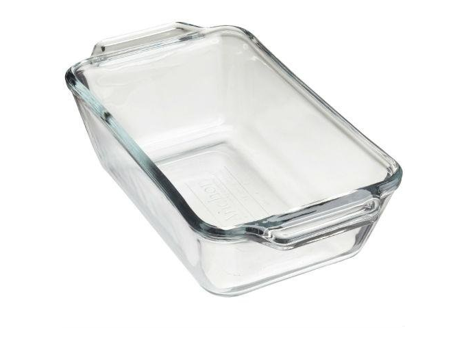 Glass Loaf Dish 1.5 Quart, 5 X 9 inches