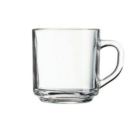 10 Ounce Glass Handy Mug