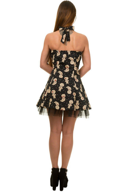 Voodoo Doll Dress - High Voltage Clothing & Accessories Ltd
