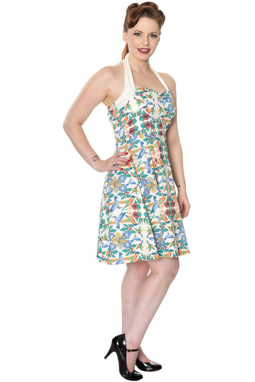 Mandala Halterneck Dress - High Voltage Clothing & Accessories Ltd