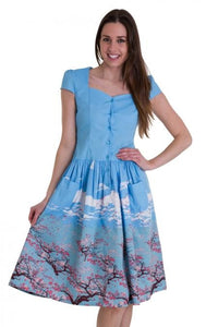 Cherry Blossom Dress - High Voltage Clothing & Accessories Ltd