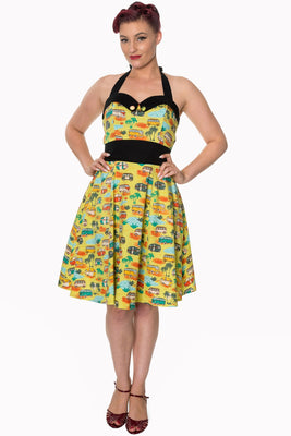Summer Camp Dress - High Voltage Clothing & Accessories Ltd