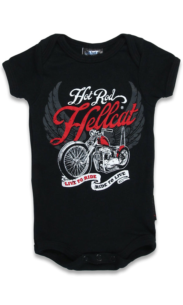 Live To Ride Onesie - High Voltage Clothing & Accessories Ltd