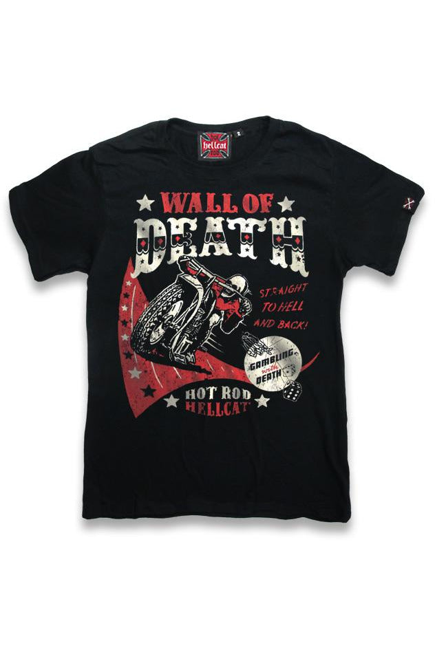 Wall Of Death T-Shirt - High Voltage Clothing & Accessories Ltd