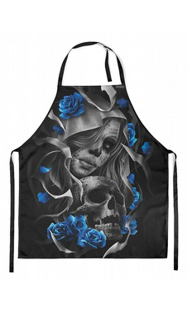 Los Muertos Apron - High Voltage Clothing & Accessories Ltd