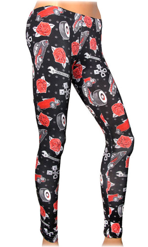 Rumble Leggings - High Voltage Clothing & Accessories Ltd