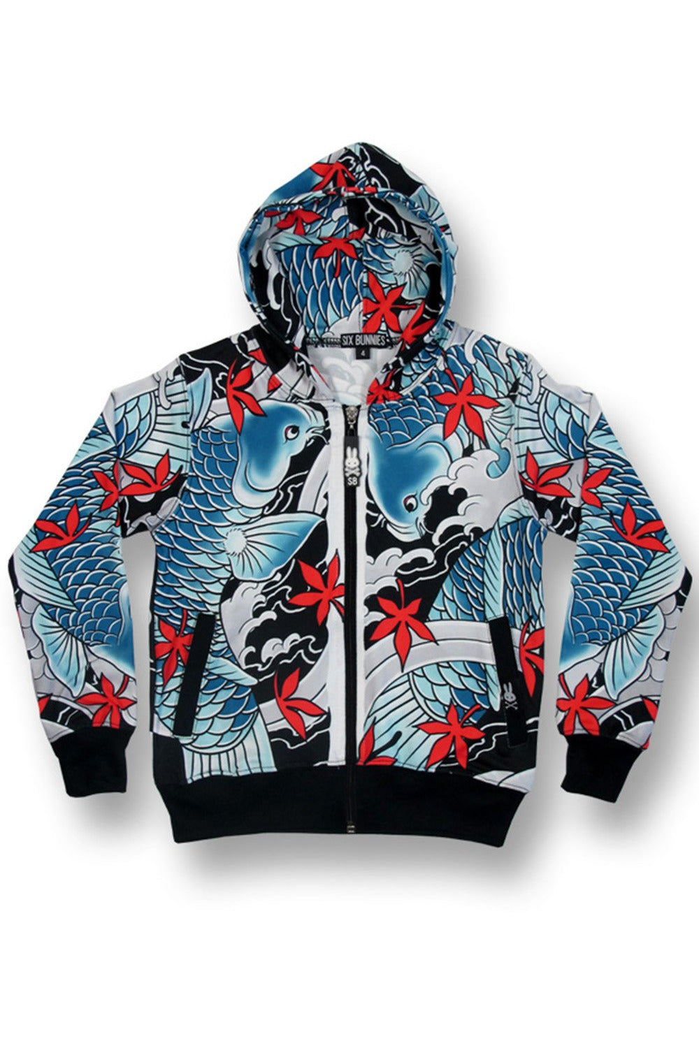 Koi Hoody - High Voltage Clothing & Accessories Ltd