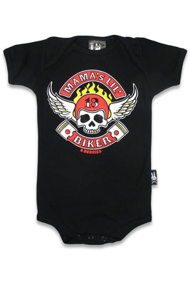 Little Biker Onesie - High Voltage Clothing & Accessories Ltd