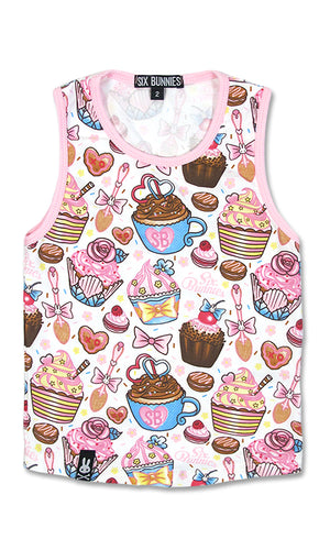 Cupcakes Tank Top - High Voltage Clothing & Accessories Ltd