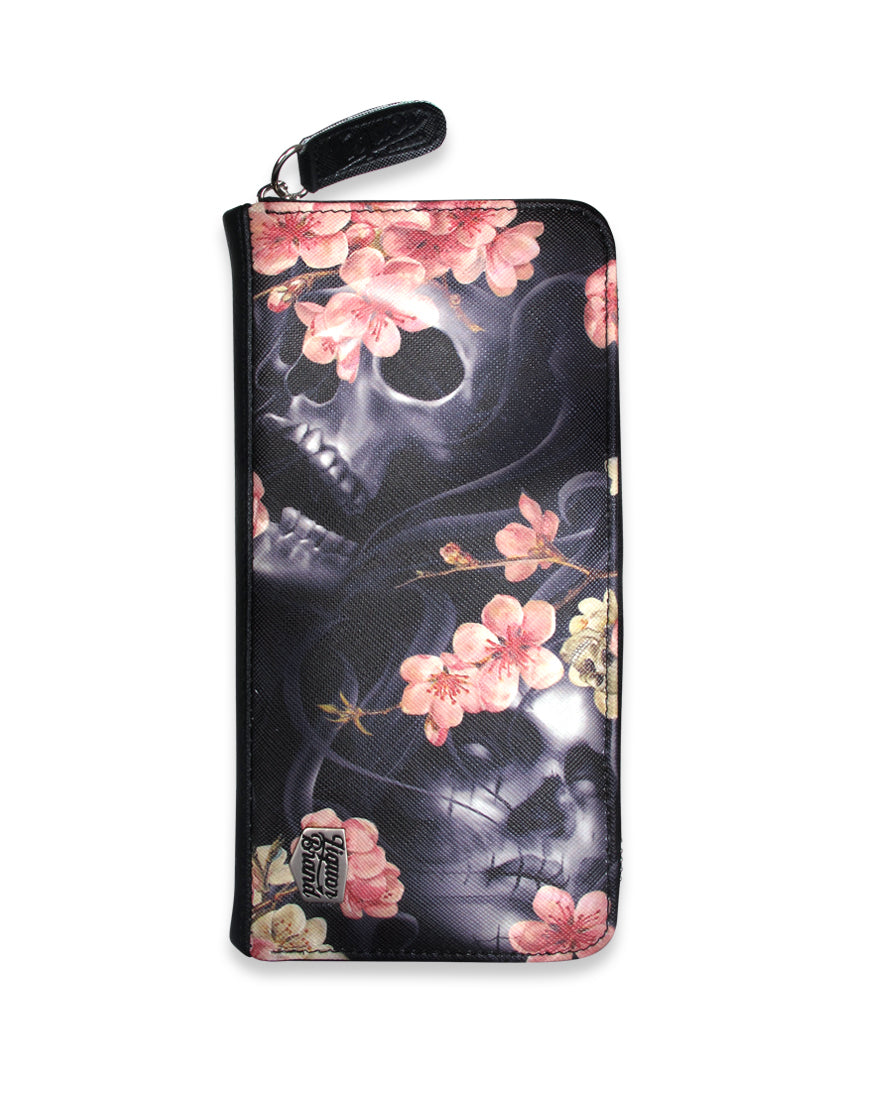 Sakura Wallet - High Voltage Clothing & Accessories Ltd