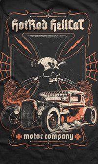Motor Company T-Shirt - High Voltage Clothing & Accessories Ltd