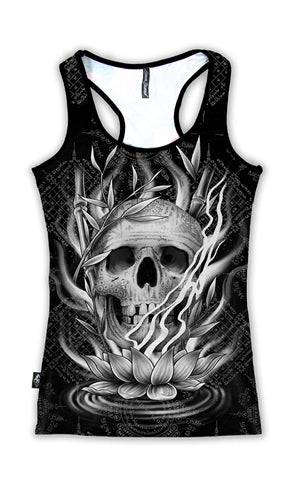 Dok Bua Singlet Top - High Voltage Clothing & Accessories Ltd