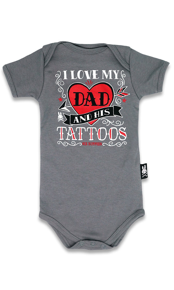 I Love My Dad Onesie - High Voltage Clothing & Accessories Ltd