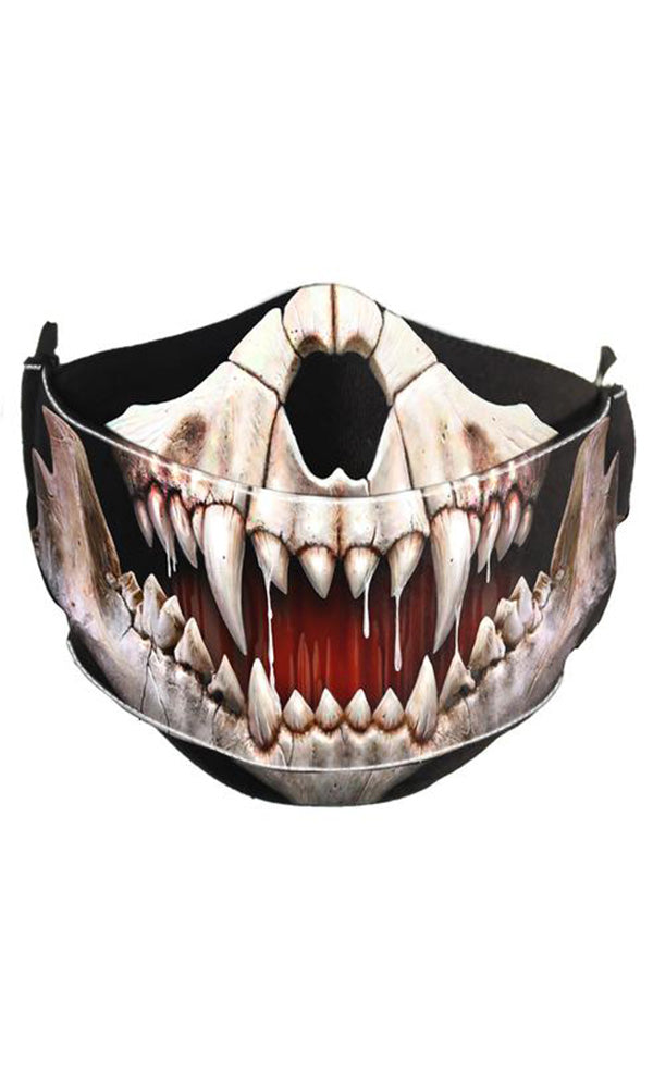 ROCK JAW - Premium Cotton Mask - High Voltage Clothing & Accessories Ltd