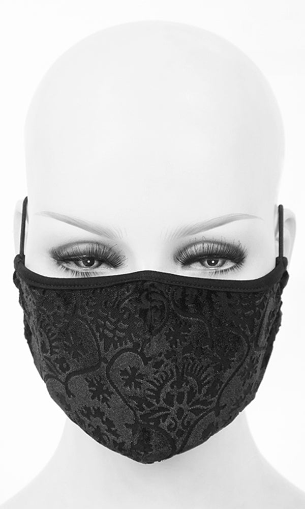 Vintage Gothic Mask - High Voltage Clothing & Accessories Ltd
