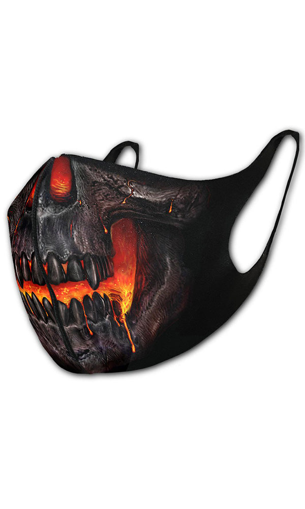 SKULL LAVA - Protective Face Mask - High Voltage Clothing & Accessories Ltd