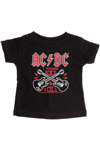 ACDC Kids T-Shirt - High Voltage Clothing & Accessories Ltd
