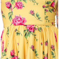 Antique Rose Dress - High Voltage Clothing & Accessories Ltd