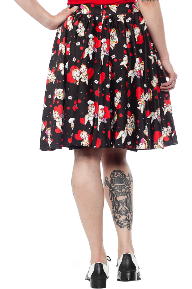 Kewpids Skirt - High Voltage Clothing & Accessories Ltd