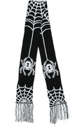 Spider Web Scarf - High Voltage Clothing & Accessories Ltd