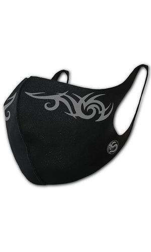 TRIBAL MASK - Protective Face Mask - High Voltage Clothing & Accessories Ltd