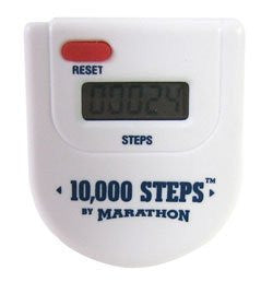 10,000-Step Pedometer With Batteries