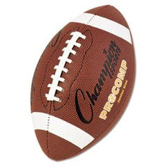 "* Pro Composite Football, Junior Size, 20.75"", Brown"