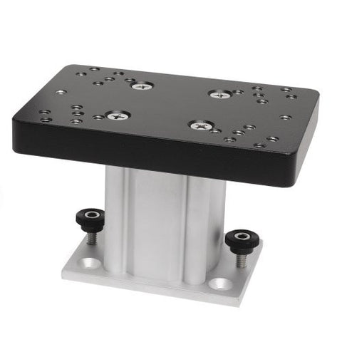 1 - Cannon Aluminum Fixed Base Downrigger Pedestal - 4""