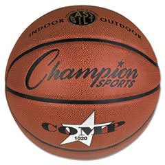 "** Composite Basketball, Official Size, 30"", Brown **"