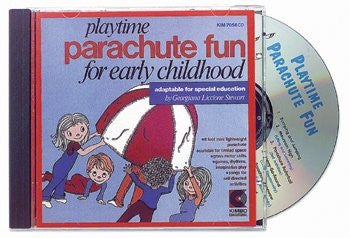 * PLAYTIME PARACHUTE FUN CD AGES 3-8