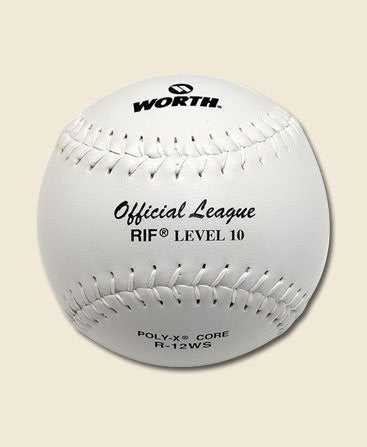 (Price/Dozen)R12WS( Price for 1 dozen), Official Safety Softball, Worth RIF slowpitch balls