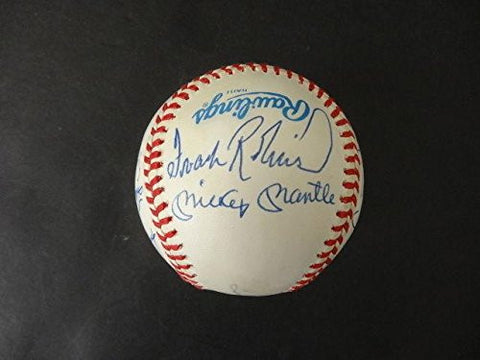 (11) 500 Home Run Club Multi-Signed Baseball Autograph Auto AB13068 - PSA/DNA Certified - Autographed Baseballs