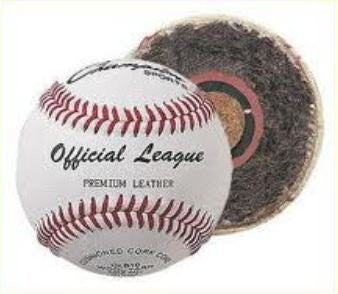 )ne (1) Official League Premium Cowhide Leather Baseball - OLB10 [Misc.]