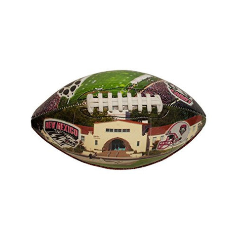 1 New UNM Photo Designed Deflated Football Wholesale