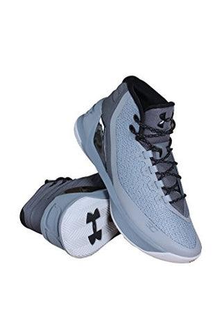 1269279-035 MEN CURRY 3 UNDER ARMOUR STL/ALU/BLK