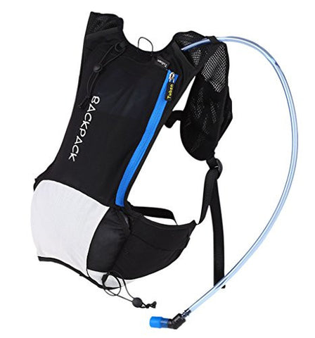 1 x Outdoor Light Hydration Pack - Sports Anti-tear Shoulder Bag / Multifunction Travling Breathable Bag For Running / Circling / Hiking / Motorcycle / Mountaineering