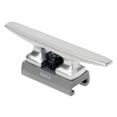 "1 - Barton Marine 51322 - 175mm (6.89"") Aluminum Sliding Cleat Fits 32mm (1.26"") 'T' Track"