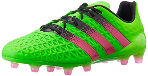 Adidas Ace 16.1 FG/AG Mens Football Boots Soccer Cleats (US 7.5, green black AF5083)