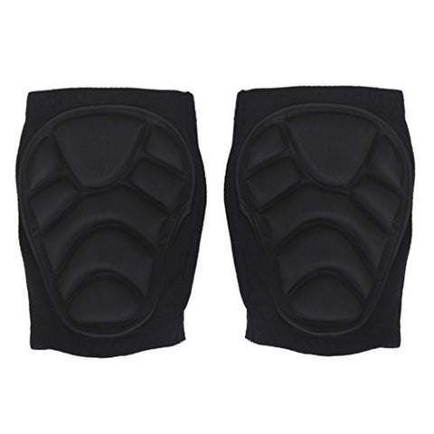 1 Pair Padded Sport Ski Volleyball Knee Guard Support Protector Brace Wrap Pads Gurad (M)