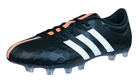 adidas 11 Pro FG Mens Leather Soccer Boots / Cleats-Black-8