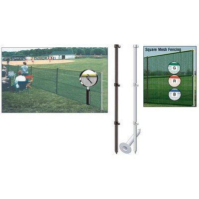 (Price/SET)MARKERS Outfield Package w/Smart Pole Set - Blue