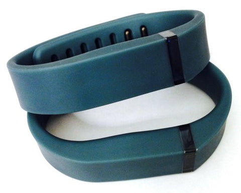 ! 2pcs Small S Slate (Blue/Grey) Replacement Bands + 1pc Free Small Grey Band With Clasp for Fitbit FLEX Only /No tracker/ Wireless Activity Bracelet Sport Wristband Fit Bit Flex Bracelet Sport Arm Band Armband